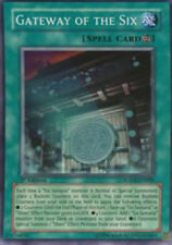 YuGiOh Gateway of the Six - SOVR-EN089 - Super Rare - Unlimited Edition MP