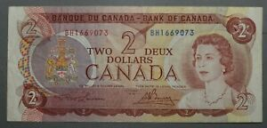 Bank of Canada $2 1974  Canadian Banknote World Paper Money Pick 86
