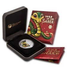 Tuvalu 2013 Baby Snake 2013 1/2 oz Proof Silver Coin with Box and COA