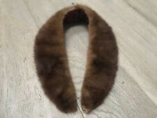 Vintage Genuine Mink Collar