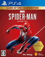 Marvel's Spider-Man Game of the Year Edition Sony PS4 From Japan Tracking USED