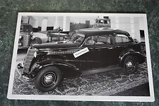"12 By 18"" Black & White Picture Chevrolet 1938 2 door trunkback"