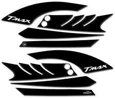 KIT ADESIVI Stickers 3D BOOMERANG PROTEZIONE GRAFFI YAMAHA Tmax T max 2008/2011