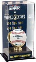Los Angeles Dodgers 2020 World Series Champs Display Case with Image - Fanatics