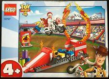 Lego Disney Toy Story 4 DUKE CABOOM'S STUNT SHOW 10767 Set