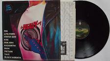 LP-THE HEAVY WAY-COMPILATION -DIO/LITA FORD/STATUS QUO/KISS..ECC.OLANDA 1984