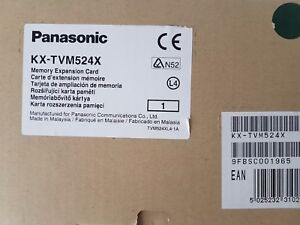 NEW Panasonic KX-TVM524X memory exp card, GST inc 12 months wty