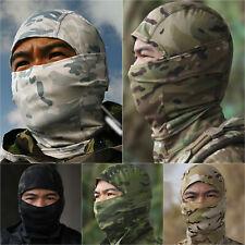 Al aire libre Militar Camuflaje Balaclava Tácticos Ejército De Esquí Sombrero de toda la cara cubierta Tapas