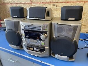 RARE JVC MX-J787V 3600W Super VCD 3 CD Tape AUX Compact Stereo Component System