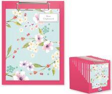 A5 50 Página Forrado Floral Niños Mini Portapapeles Flor en Flor