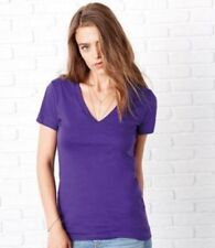 V Neck T-Shirts Size Petite for Women