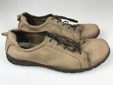 BORN Women's 9 40.5 M Shoes Lace Up Oxfords Soft Brown Nubuck Leather