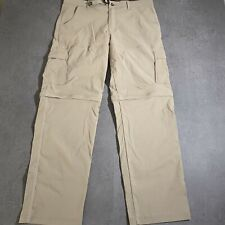 Prana zip off Pants Mens Size XL Hiking Climbing 38 x 34