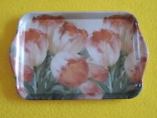 Ambiente 1x Tablett Blumen Tulpen Tulpis Dream Melamin 13 X 21 Trays