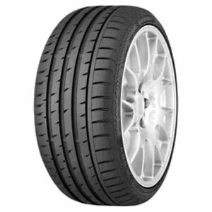 TYRE SUMMER CONTISPORTCONTACT 3 235/40 R19 92W CONTINENTAL