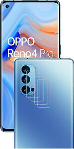 4x Camera Lens Protector Thin Tempered Glass Cover Guard for OPPO Reno 4 Pro 5G