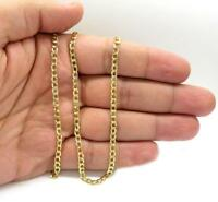"""2.5MM 14K SOLID YELLOW GOLD CUBAN LINK WOMEN/ MEN'S NECKLACE CHAIN 16""""-26"""""""