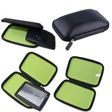 """Hard Carry Case Cover 6"""" In Car Sat Nav Holder For GPS TomTom Start Garmin IB"""