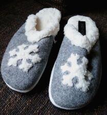 Rohde Pantofole Taglia 39 Grigio Bianco Nuovo Inverno