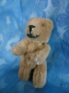 Adorable!!!  Schuco?? Vintage Miniature Soft Mohair Teddy Bear