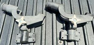 2 side mount rod holders for boat or kayak