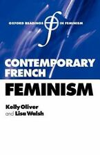 Contemporary French Feminism (2005, UK-Paperback)