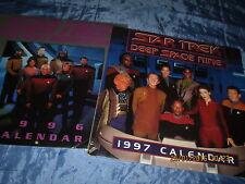 STAR TREK  Kalender  1996 + 1997 , Kult  FILM - Fanartikel , USA , ovp.