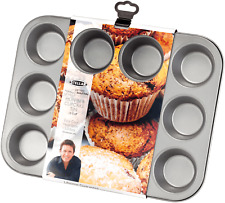 Stellar James Martin Non-Stick 12 Cup Muffin/Cupcake Pan