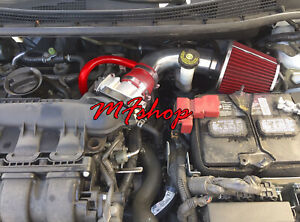 Red For 2013-2019 Nissan Sentra 1.8L L4 Air Intake System Kit + Filter