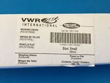 VWR Weighing Dishes Polystrene Small 500/pkg --12577-05-- New