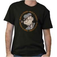 Make It Strong Funny Popeye Cartoon Sailor Short Sleeve T-Shirt Tees Tshirts