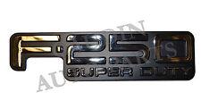 FORD OEM F-250 Super Duty Bed / Fender-Emblem Badge Nameplate F81Z9942528DB