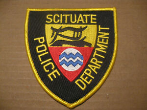 SCITUATE RHODE ISLAND POLICE PATCH
