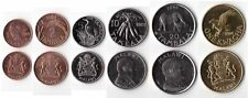 MALAWI COIN SET 1+2+5+10+20 Tambala +1 Kwacha 1995-2004 UNC UNCIRCULTED LOT of 6