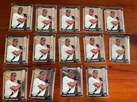 Carl Crawford-35 1999 Bowman Chrome Rookie lot #440 -34 Base & 1 Chrome SP Gold