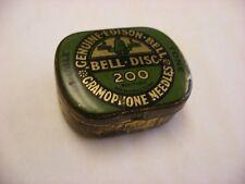 Phonograph Victrola Gramophone - Needle Tin - 200 Edison Bell Gramophone Double