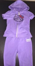 EUC Girl's Hello Kitty Track Suit Outfit - Size 4