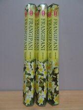 Frangipani Incense 3 Packs x 20 Sticks Hem Hex Free Post AU
