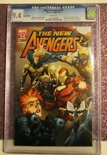 The New Avengers((2005) #27c(leinl Yu incentive cover) CGC 9.4 white Pages