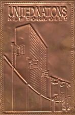 Copper-Pc New York City United Nations Usa 1712229
