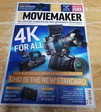 Pro MovieMaker magazine Spring 2018 4K UHD the new standard + RXO GoPro &YI