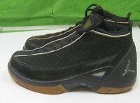Nike Air Jordan XV  Retro SE Black Gold Laser 317112-006 Men's  Size 9-9.5