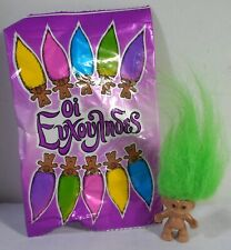 HASBRO ACE NOVELTY GREEK VTG 1992 4'' LUCKY TROLL DOLL UNUSED IN FACTORY BAG