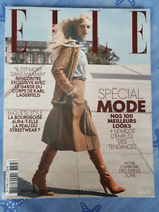 Magazine ELLE SPECIAL MODE aout 2019 couverture #1 Frederikke Sofie TBE