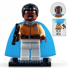 CUSTOM Lando Calrissian STAR WARS Pupazzetto accoppiamenti con LEGO pg708 UK selller