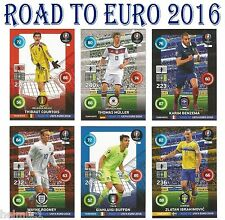 #82-135 TEAM MATE / LINE UP Road To Euro 2016 Panini Adrenalyn card
