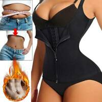 Women Slimming Body Shaper Waist Trainer Underbust Cincher Corset Vest Shapewear