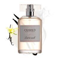 CHABAUD Lait De Vanille 3.4oz Spray Eau de Toilette