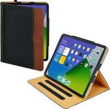 iPad Air 2 Case Soft Leather Wallet Magnetic Smart Cover Sleep Wake for Apple