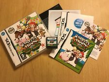 NINTENDO DS DSL DSi HARVEST MOON ISLAND OF HAPPINESS +BOX INSTRUC'S COMPLETE PAL